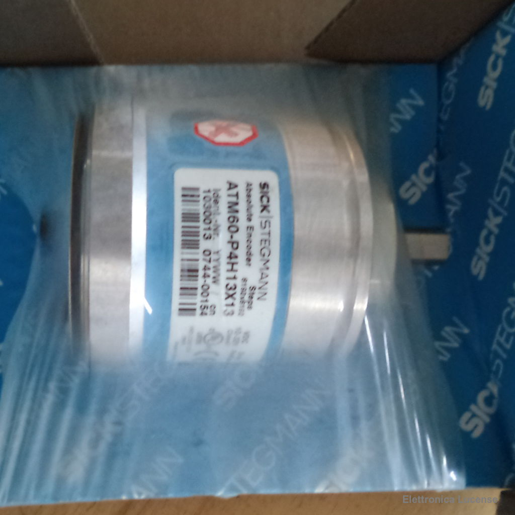SICK-STEGMANN ATM60-P4H13X13 ABSOLUTE ENCODER MULTITURN 6000 RPM 24V – 8192  PPR PROFIBUS